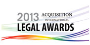 Acquisition Legal Awards